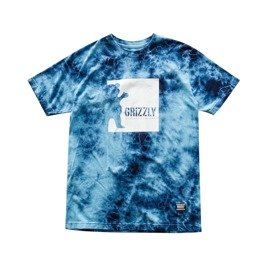 grizzly deep water s/s tee tie dye