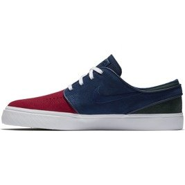 sports shoes 7d759 67884 ... nike sb janoski RED CRUSH BLUE VOID-WHITE-MIDNIGHT GREEN Click to zoom.  1