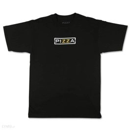 pizza brazzers tee black