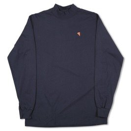 pizza emoji mock neck navy