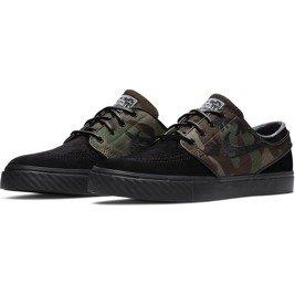 super popular d976b 05364 ... shoes nike sb air zoom stefan janoski og black black-medium olive-white  Click to zoom. 1
