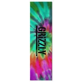 Grizzly Reverse Tie-dye Stamp Griptape