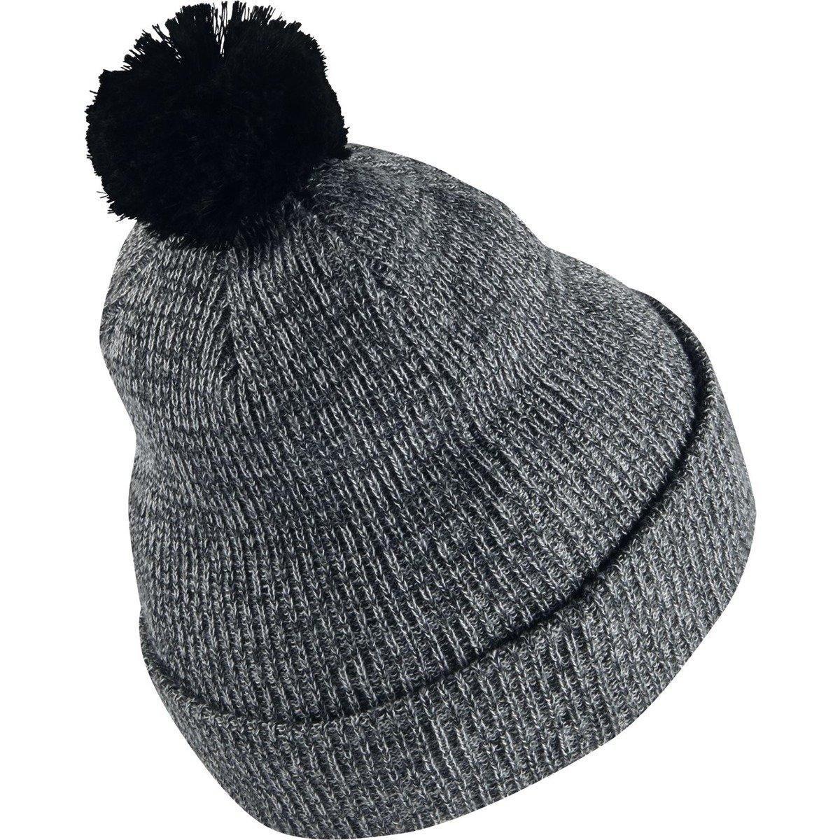 outlet store dcc8b 97f5f ... czapka nike sb 2-in-1 pom knit hat black Kliknij, aby powiększyć