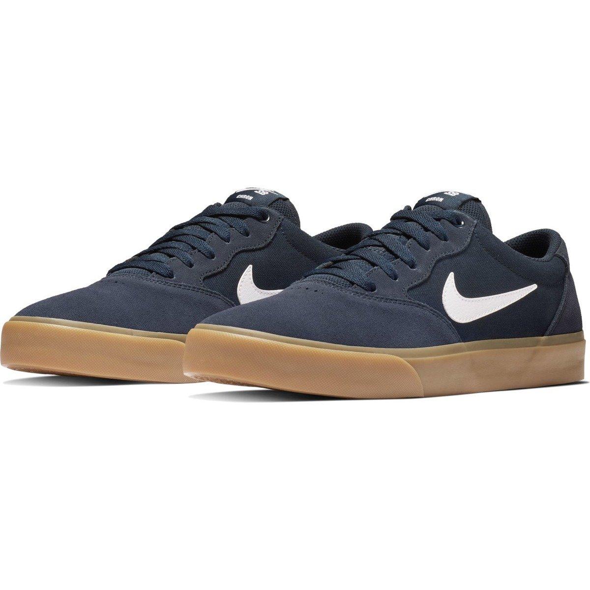 new styles 89e8e ab02c ... Buty Nike Sb Chron Slr Obsidian white Kliknij, aby powiększyć ...