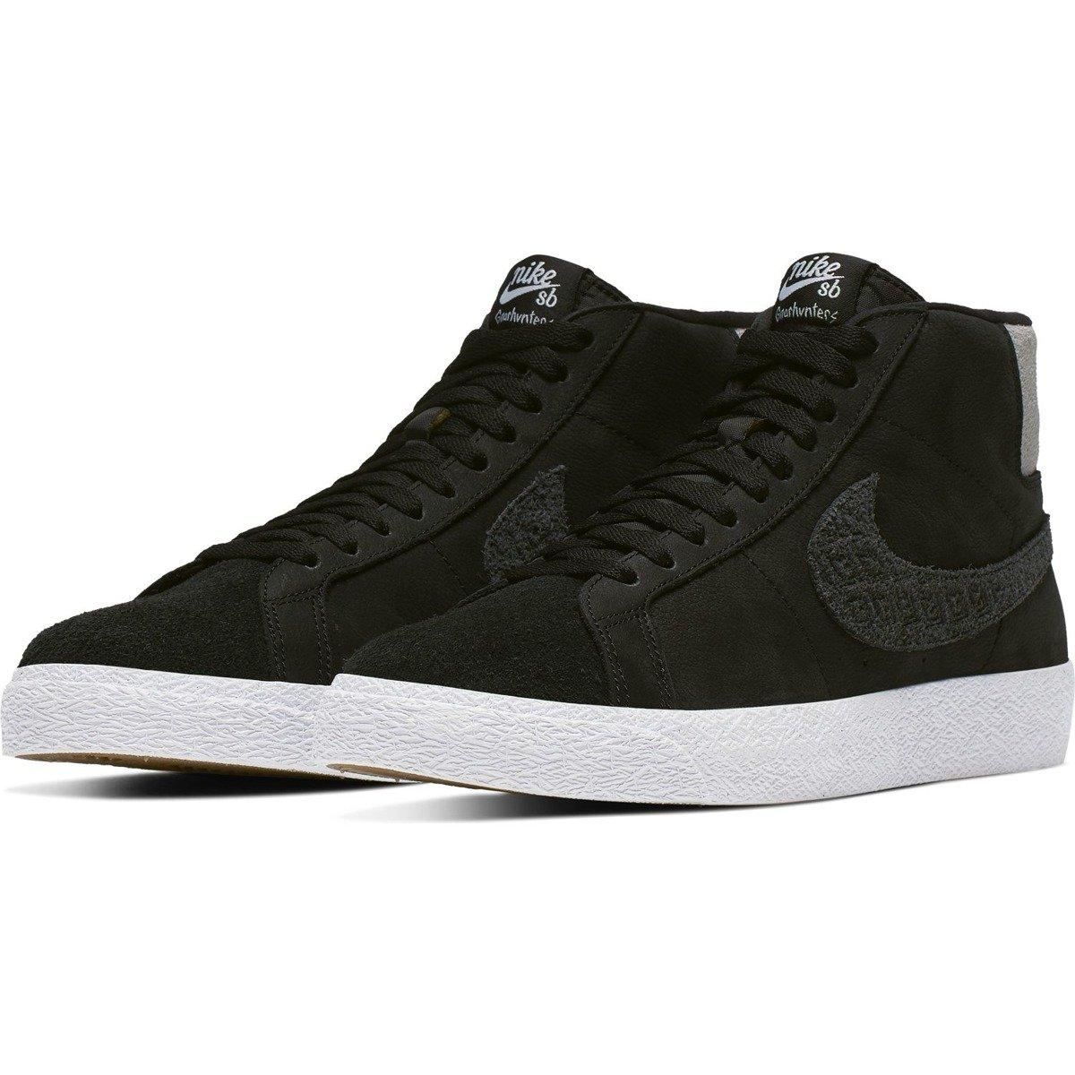 Buty Nike SB Air Zoom Blazer Mid (Black White)