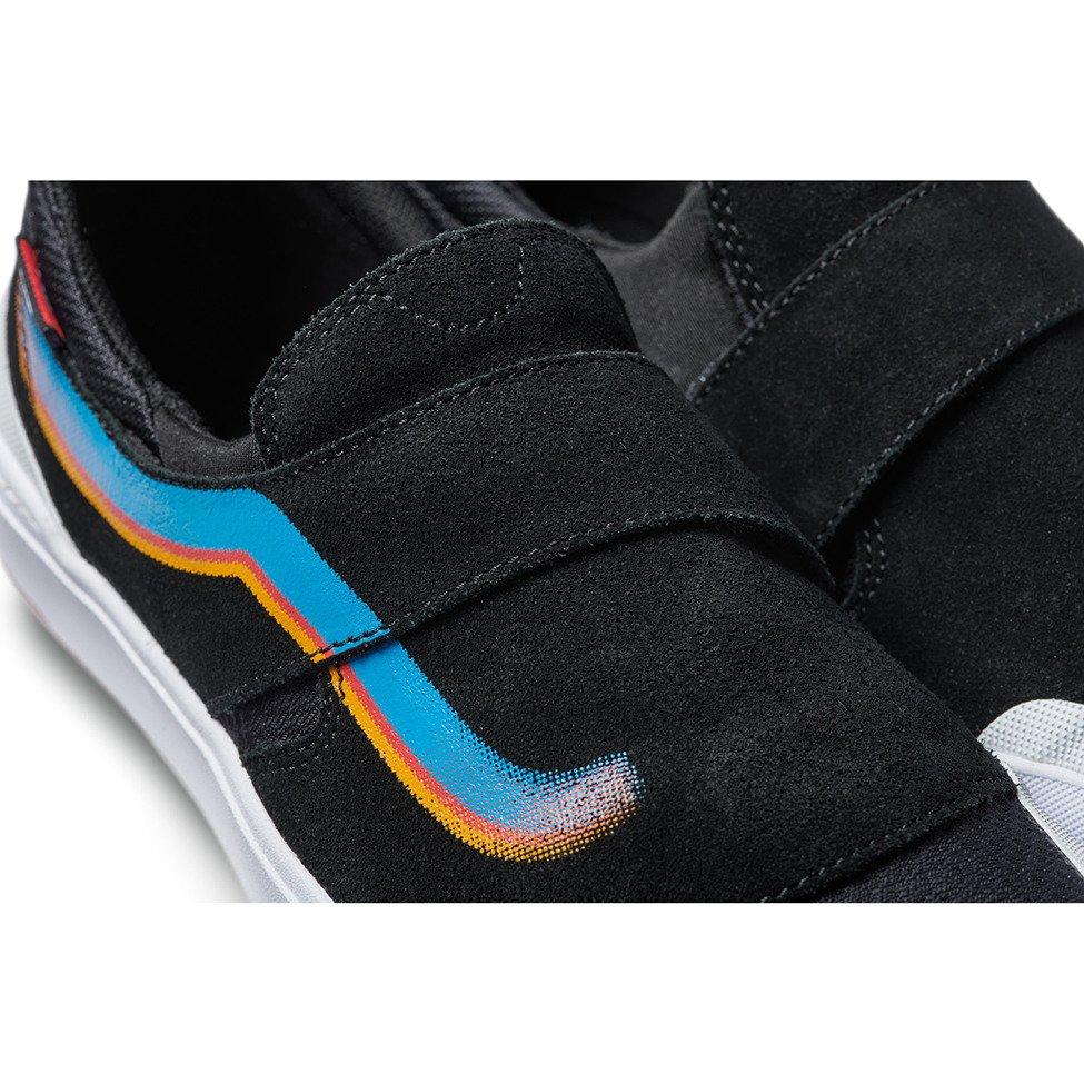 Shop Vans Slip On EXP Pro Skateboard Shoe BlackWhite
