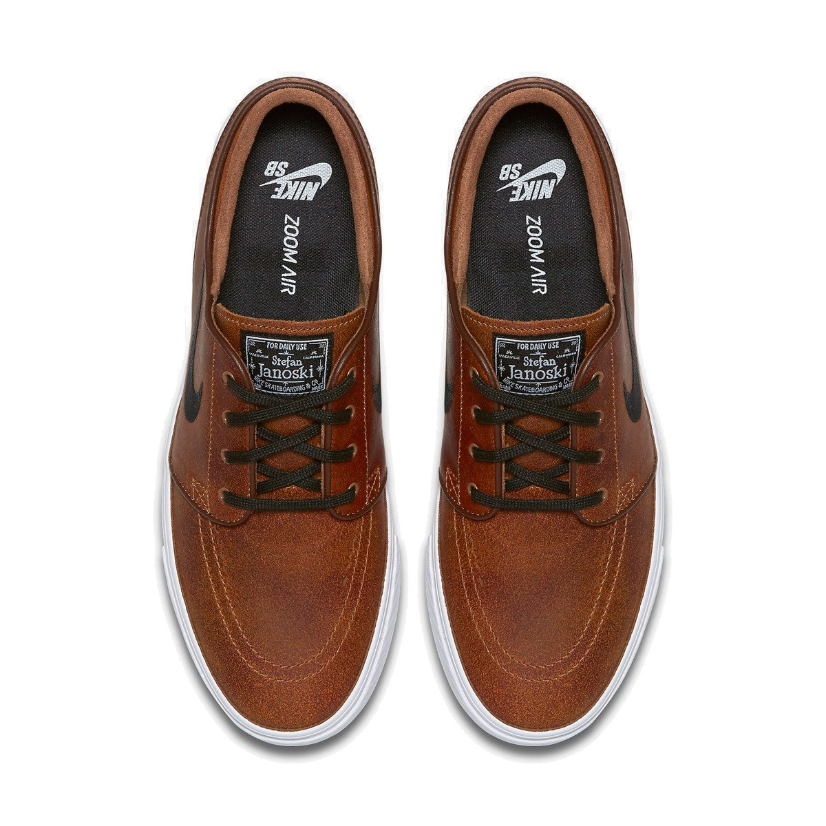408abf47be2 ... buty nike sb air zoom stefan janoski elite ale brown black-white-dk  Kliknij
