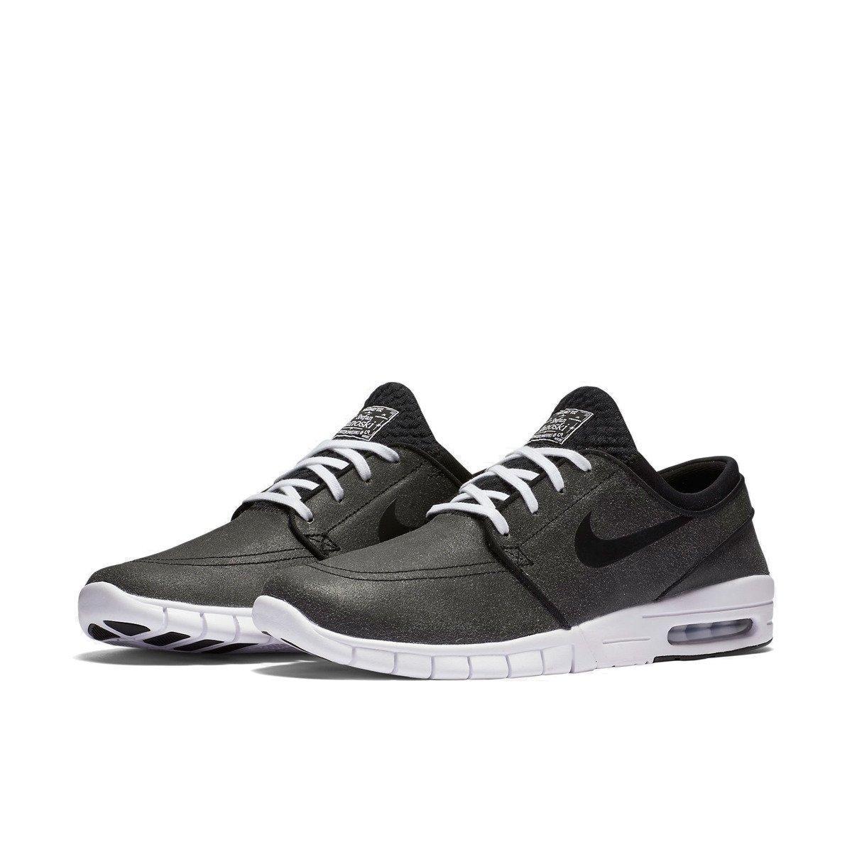 sports shoes 95722 80940 Kliknij, aby powiększyć · buty nike sb stefan janoski max leather premium  black black-white-wolf grey