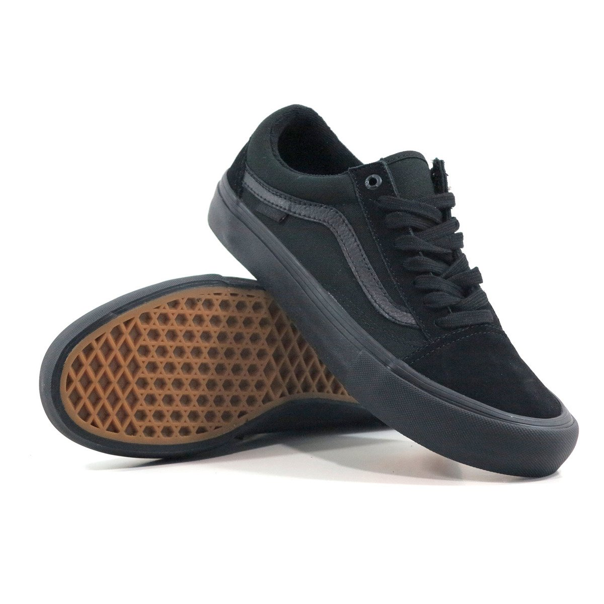 63eb3b898872 Miniramp Skateshop buty vans old skool pro blackout