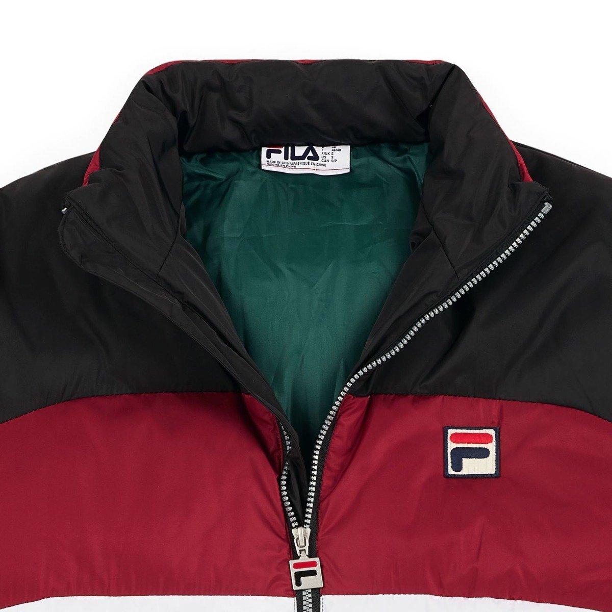 kurtka fila neo colour blocked puffa jacket