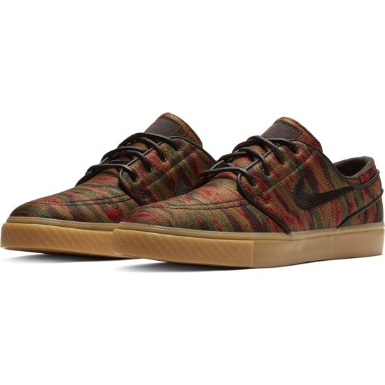 Buty Nike Zoom Stefan Janoski canvas multi-color/velvet brown-gum yellow