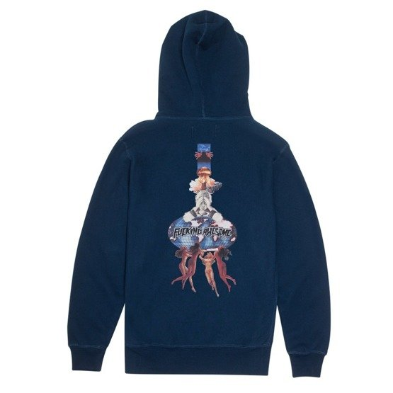 bluza fucking awesome world kid hoodie navy