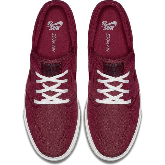 buty nike janoski canvas  red crush/red crush-white