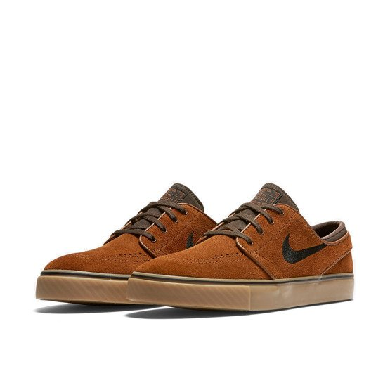 buty nike sb air zoom stefan janoski hazelnut/black-baroque brown