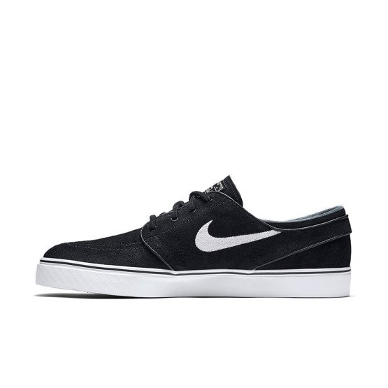buty nike sb air zoom stefan janoski og black/white-gum light brown