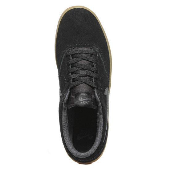 buty nike sb check solarsoft skateboarding shoe  black/anthracite-gum light brown