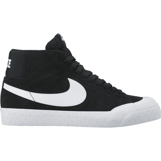 buty nike sb zoom blazer mid xt black/white-gum light brown