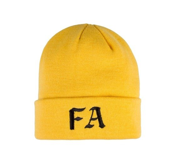 czapka fucking awesome fa beanie gold