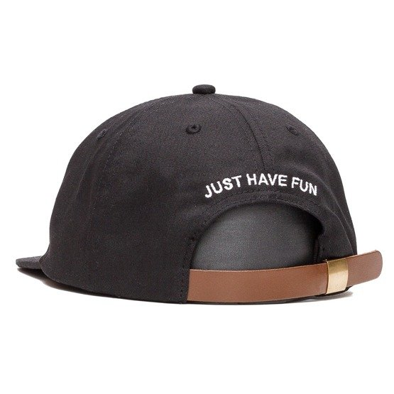 czapka jhf single stitch strapback in black