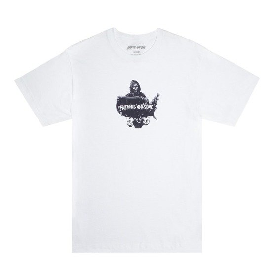 koszulka fucking awesome reaper tee white