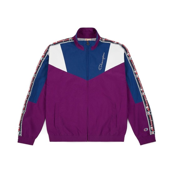 kurtka champion reverse weave full zip top purple