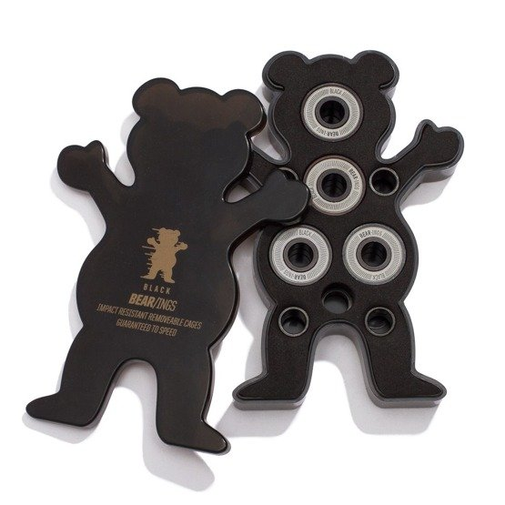 łożyska grizzly golden bearings black ABEC9
