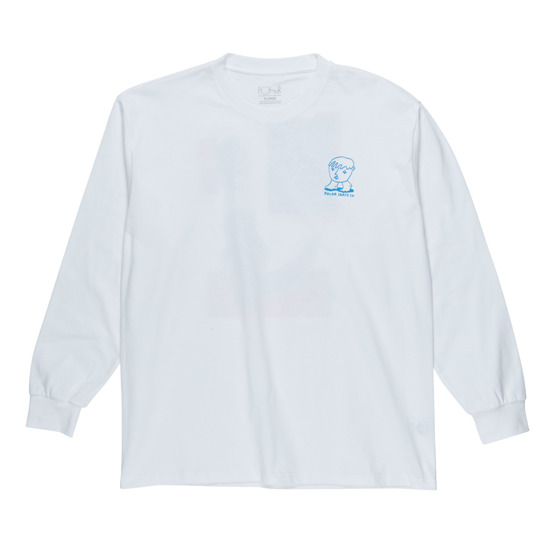 polar dirty boys longsleeve white