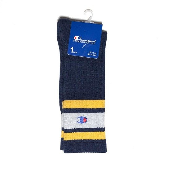 skarpetki champion reverse weave socks navy