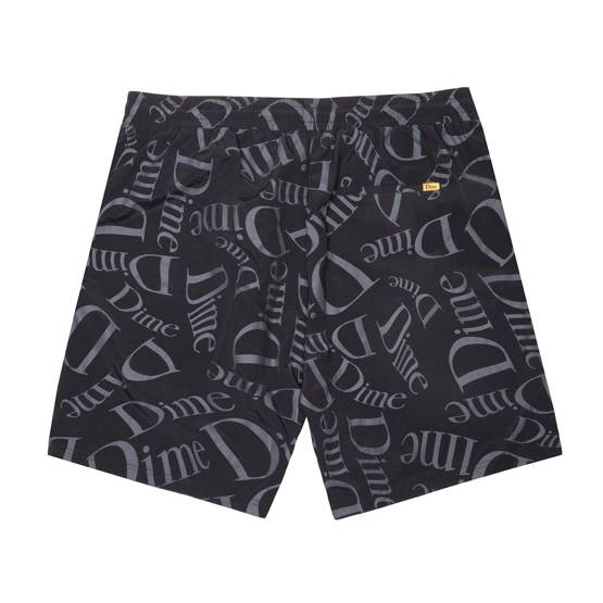 szorty DIME CLASSIC PATTERN SHORTS BLACK