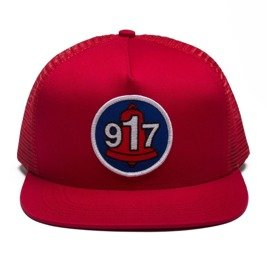 czapka call me 917 club hat red