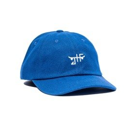 czapka jhf classic skate dad hat royal/white