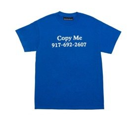 koszulka call me 917 copy me t-shirt blue