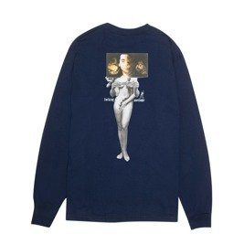 longsleeve fucking awesome wizards l/s tee navy