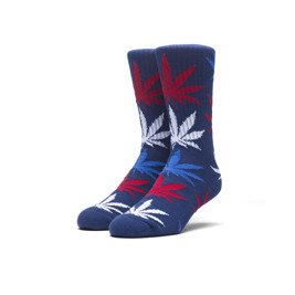 skarpetki huf apparel usa plantlife navy