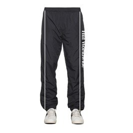 spodnie huf worldwide tracks pants black
